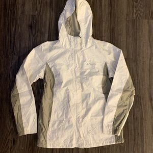Women's Columbia rain jacket